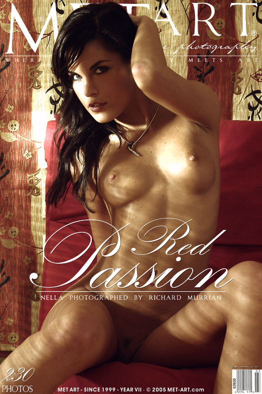 MetArt [2005-04-30_RED-PASSION] 30.04.2005 Nella A - Red Passion by Richard Murrian