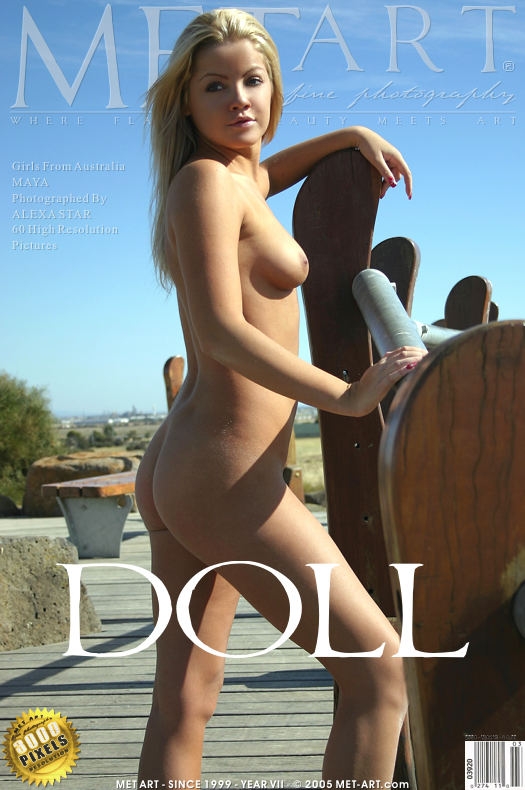 MetArt [2005-09-10_DOLL] 10.09.2005 Maya B - Doll by Alexa Star