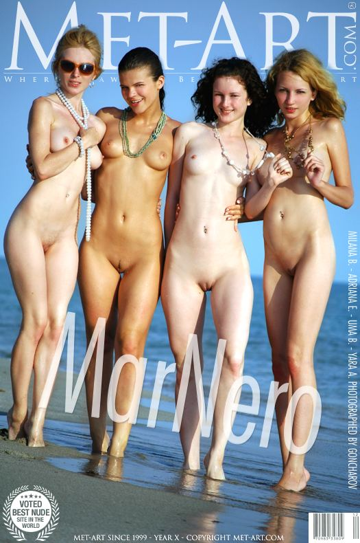 MetArt [2008-07-17_MAR-NERO] 17.07.2008 Adriana E & Milana B... - Mar Nero by Goncharov