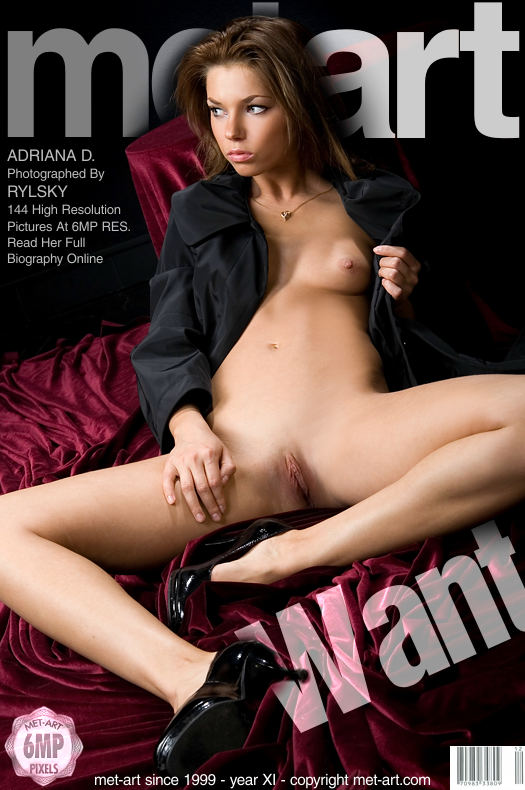 MetArt [2009-01-20_WANT] 20.01.2009 Adriana D - Want by Rylsky