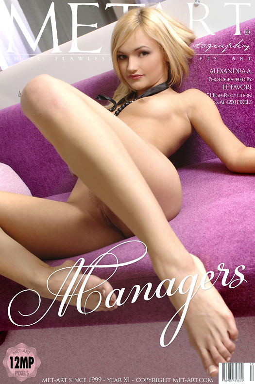 MetArt [2009-10-11_MANAGERS] 11.10.2009 Alexandra A - Managers by Andre Le Favori