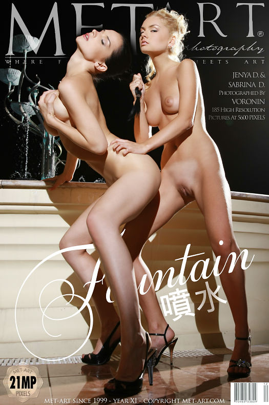 MetArt [2009-11-19_FOUNTAIN] 19.11.2009 Jenya D & Sabrina D - Fountain by Voronin