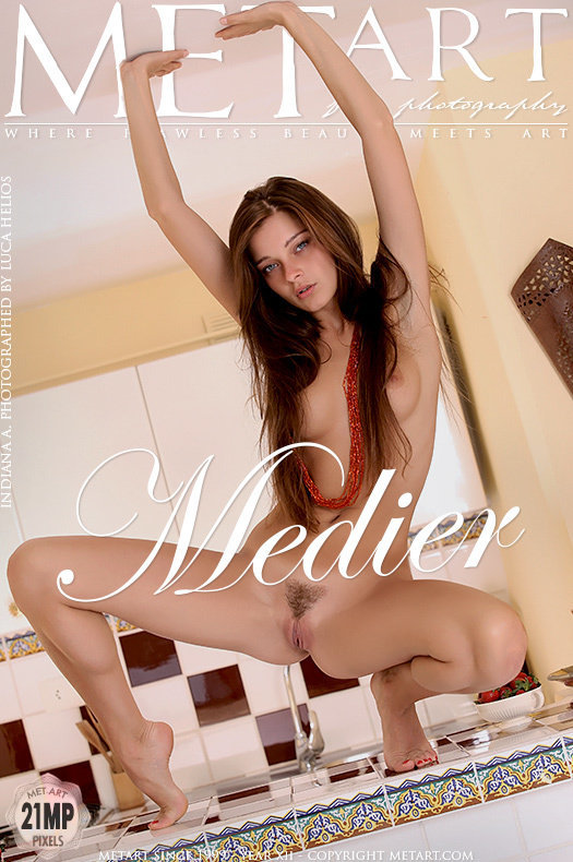 MetArt [2013-09-01_MEDIER] 01.09.2013 Indiana A - Medier by Luca Helios
