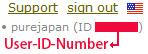 Your Upstore User-ID-Number